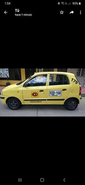 Vendo taxi 2007  con aire