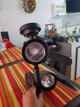 Set estaca solar led