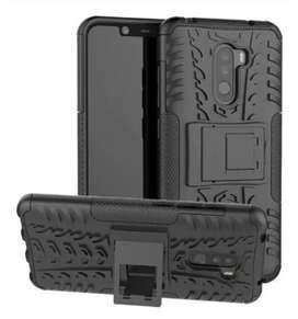 Estuche Forro Antigolpes Tipo Armadura Xiaomi Redmi Mi Note 4 5 5a 7 8 9t mi9 F1 A1 A2 A3 Lite Pocophone Plus Pro Prime