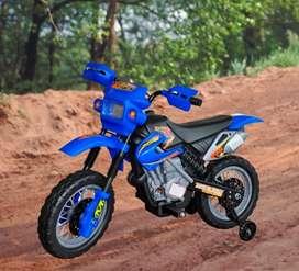 Moto electrica Dt con luces y sonido para niños recargable  moe0101