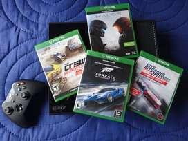 Xbox One 500 Gb + 4 peliculas