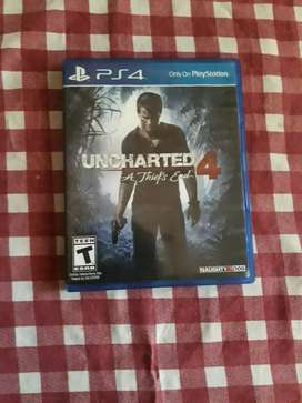 Ps4  juego Uncharted 4