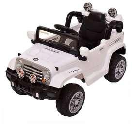 Carro de baterias nuevo Jeep Ride On Scoop