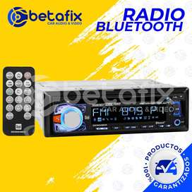 RADIO DE AUTO 1DIN DC504BiM REPRODUCTOR CD / MP3 / USB / AUX DESMONTABLE / CONTROL DE MOVIMIENTOS BETAFIX