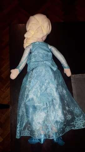 Muñeca Elsa Frozen  Libro Rompecabezas
