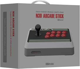 Arcade Stick 8bitdo Original, Bluetooth, Pc, Mac, Android