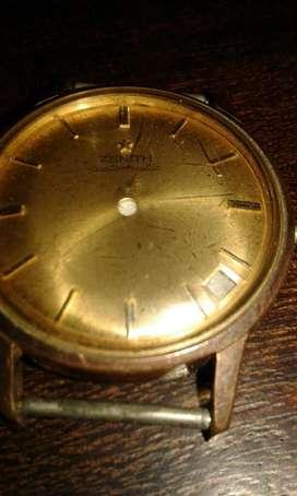 Zenith Gold Filled Caja con Cuadrante