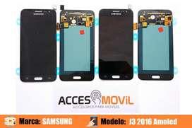 Pantalla Samsung J3 2016 Amoled