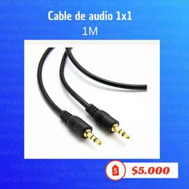 Cable audio 1x1