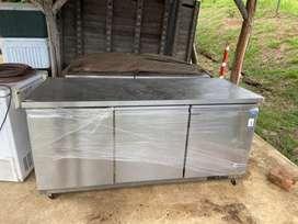 Congelador mesa trabajo