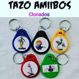 Amiibos en llaveros plásticos 5 Nintendo