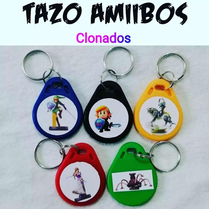 Amiibos en llaveros plásticos 5 Nintendo 0