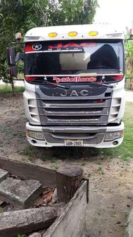 Vendo Camión Jac 12 toneladas