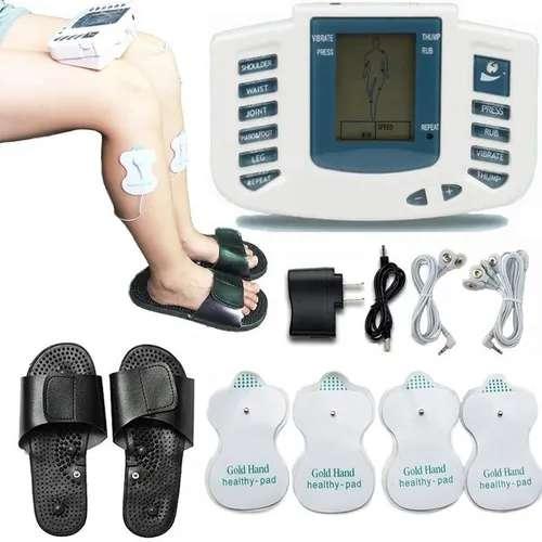 Estimulador De Pulso Electronico Terapia Fisica Masajeador