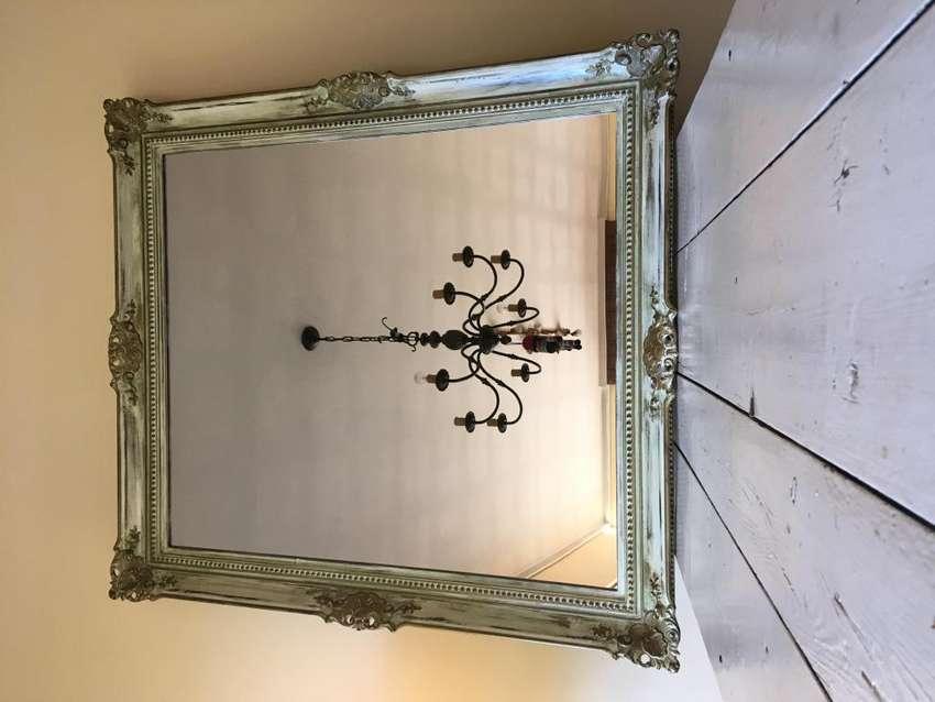 Espejo con marcos estilo frances 1,30x1mt 0