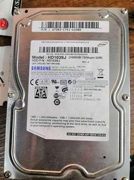 Disco duro 1T (1.000) Gb