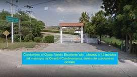 Condominio el Oasis, Vendo Excelente lote , ubicado a 15 minutos del municipio de Girardot Cundinamarca