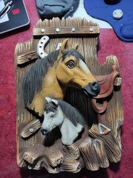 Hermosa cerámica de caballo