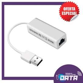 ADAPTADOR USB A LAN (RED)
