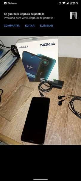 Nokia 5.3 con 15 días de comprado