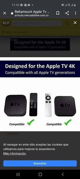 Apple tv como nuevo