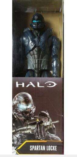 Juguete figura Halo Spartan Locke Mattel 0