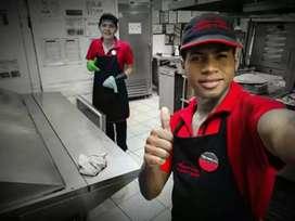Hola soy Maestro de Masa para Pizzeria me urge poder trabajar soy Polifuncional  yo trabajé para Pizza Hut