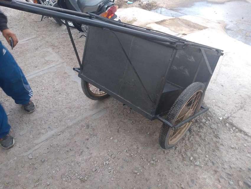 Carrito para Moto Exelente Estado 0