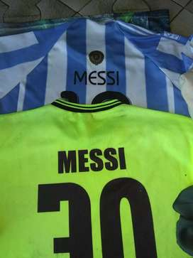 Camisetas Messi talle M