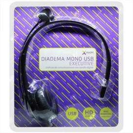 Diadema mono usb X XKIM