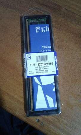 Kingston 16GB 1600MHz KTM-SX316LV/16G 1600 Low