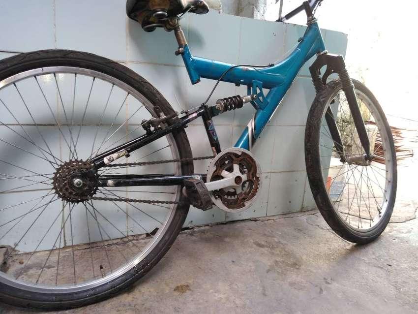 Vendo bicicleta usada 0
