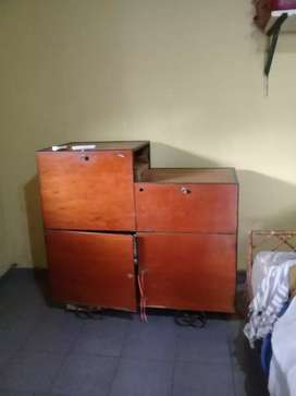 Mueble con estantes armason de hierro muy fuerte regalo