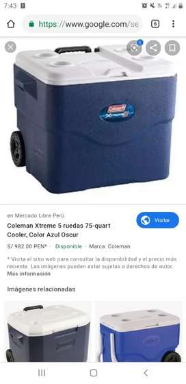 Cooler coleman 75 qt xtreme