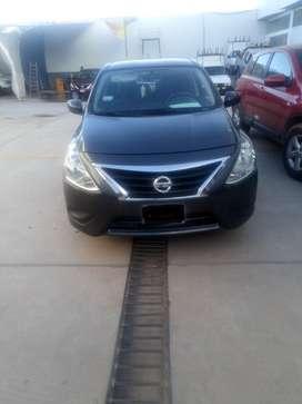 Nissan versa año de fabricacion 2014 modelo 2015 $10,500