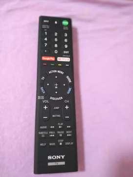 Control remoto Sony con comando de voz