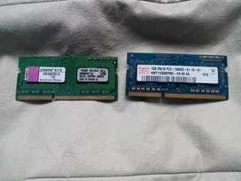 Memorias Ram 1gb Ddr3