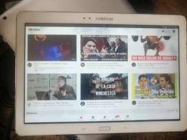 Samsung Tab pro 10.1 de 16 gigas con manchas en la pantalla cargador cable buen estado