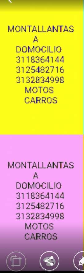 montallantas a domicilio el bucaramanguero 3118364'144...3132'8'34'998