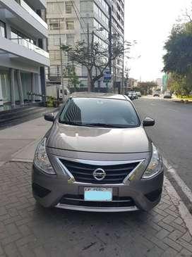 2017 Nissan Versa Mod. 2018 con GLP