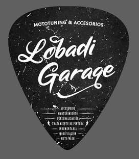 Accesorios para motos - Lobadi Garage