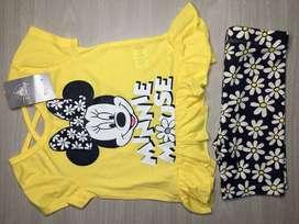 Conjunto Minnie Mouse