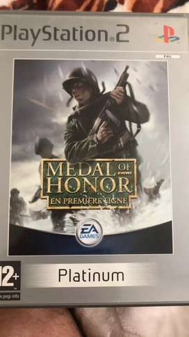 Juego PlayStation 2 Medal of Honor Platinum