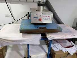 Plancha termofijadora para sublimar