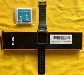Banda de Hule (Pulsera) negra para Smart Watch Apple