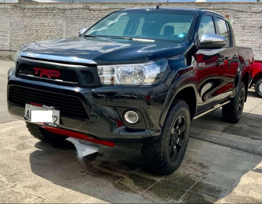 Toyota Hilux 4x4 a Diesel año 2018 con 30.000 km. 0