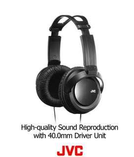 Audifonos JVC Harx330 OVEr-EAr, Tamaño Completo sobre la oreja