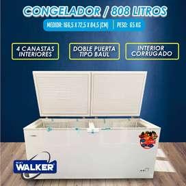 Congelador 808 Litros Walker WIFI