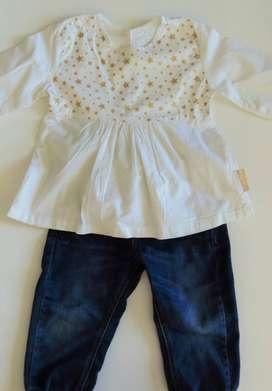 Conjunto bebé niña Fisher Price - Talla 12-18 meses