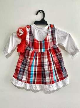 Vestido de niña  talla 1 nuevo